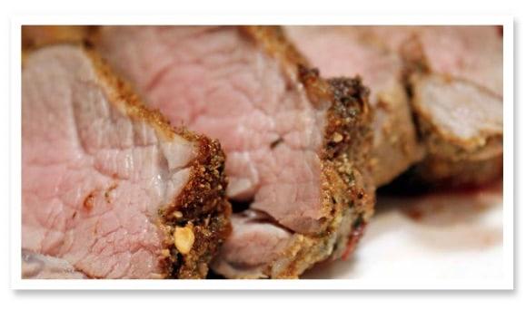 Low Carb Rezept: marinierter Schweinerücken | Kohlenhydrate Tabelle